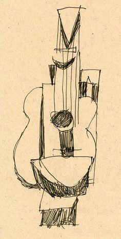 picasso guitarra 1912 - Buscar con Google
