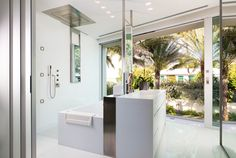 Modern bathroom in the Hamptons Modern Bathroom, The Hamptons, Bathrooms, Bathtub, Standing Bath, Funky Bathroom, Bath Tub, Bathroom, Bath Room
