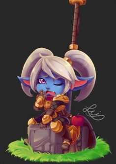 Poppy,League of legends,лига легенд,фэндомы. Poppy League, League Of Legends Poppy, Lol League Of Legends, Game Design Degree, Defense Of The Ancients, Video Game Art, Video Games, Yandere Simulator, Nerd