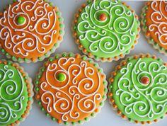 Citrus Swirl sugar cookies.