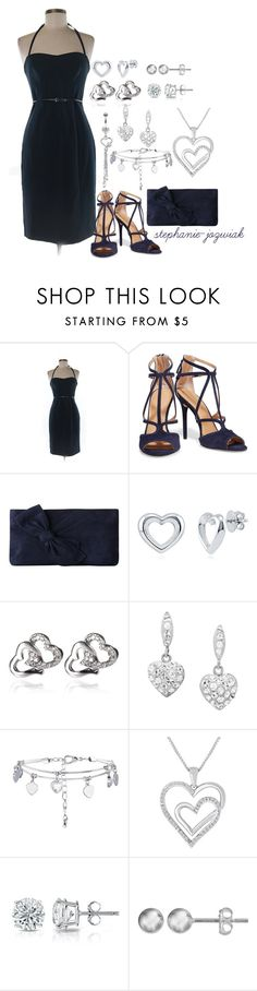 """""""Zoe's Dress for Dr. Kelly's Funeral"""" by stephanie-jozwiak ❤ liked on Polyvore featuring Black Halo, Halston Heritage, L.K.Bennett, BERRICLE, Amanda Rose Collection, New Look, Barzel and Journee Collection"""