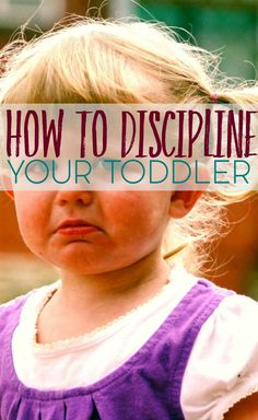 How To Discipline Your Toddler {pacific kid}
