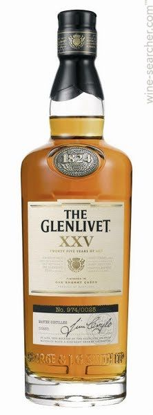 The Glenlivet XXV 25 Year Old Single Malt Scotch Whisky, Speyside, Scotland