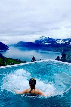 Hotel Villa Honegg, o hotel dos sonhos na Suíça. Villa Honegg, Day Spa, hotéis luxuosos.