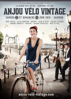 Anjou Velo Vintage, Rando Velo, Velo Retro, Tweed Ride, Saumur, Bicycle Art, Vintage Bicycles, World's Biggest, French Vintage
