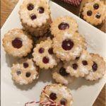 Linzer Augen (glutenfrei, milchfrei, kohlenhydratreduziert, Paleo) Paleo, Vegan, Doughnut, Cereal, Cookies, Breakfast, Desserts, Food, No Sugar