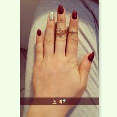#lovethem #nails #ring #red