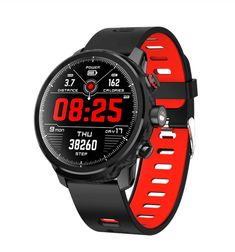 Buy New Smart Watch Men Waterproof Multiple Sports Mode Heart Rate Weather Forecast Bluetooth Smartwatch Standby 100 Days Fitness Watches For Women, Cheap Watches For Men, Affordable Watches, Expensive Watches, Fitness Tracker, Fossil, Tech Gifts For Men, Smartphone, Soccer Store
