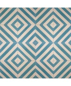 Linea Blue Encaustic