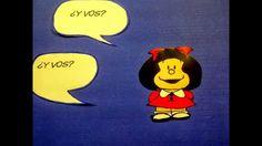 """¡Mi primer """"video-cómic""""!  Me propuse 2 objetivos al hacerlo: a) ponerme """"manos a la obra"""" explorando la técnica que nos mostró y enseñó Puerta Joven b) motivar a mis alumnos (niños y jóvenes estudiantes de español) a presentarse respondiéndole a Mafalda por la misma vía... ¡Veremos cómo sigue la historia! ¡No dudo que las respuestas de mis alumnos serán muchoooooo más divertidas y estéticas!"""