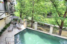 Downtown condo for sale. Patio and pool overlooking #SanAntonioRiverwalk. Private garage. Amazing location! 1022 Navarro, 78205 - 1 bed / 1 bath | 809 sqft | $299,900. Click to take a virtual tour.