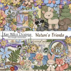 Nature's Friends Page Kit