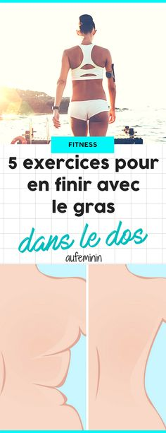 Raffermissez votre dos pour en finir avec ces bourrelets dorsaux sous le soutien… Firm up your back to finish with these back ribs under the bra or in the neckline of your back-naked! Fitness Workouts, Fun Fitness, Cardio Workout Plan, Muscle Fitness, Yoga Fitness, At Home Workouts, Muscle Food, Fitness Gear, Workout Routines