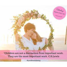 #31wifeintrainingmagazine #magazine #31wifeintraining #saturday #relationship101 #parenting #childeren #importantwork #cslewis