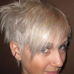 hair tinsel--getting hair colored this next month, thinking of getting a couple strands of tinsel. should i??