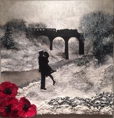 Home For Christmas from the War Poppy Collection by Remembrance Artist Jacqueline Hurley - Military fine art print Remembrance Day Pictures, Remembrance Day Poppy, Remembrance Day Drawings, Original Art, Original Paintings, Poppies Tattoo, Before Us, Looks Cool, World War Two