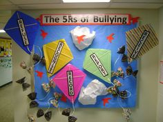 Elementary Counseling Blog: Bulletin Boards I would add definitions or process to follow for each.