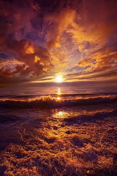Toward The Far Reaches - Lake Michigan Wisconsin Horizons By Phil Koch. http://phil-koch.artistwebsites.com