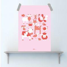 Poster Dieren
