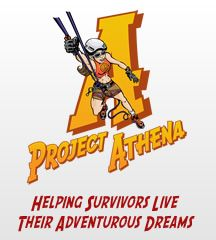 Project Athena Foundation-helping women reach their athletic and adventurous dreams after surviving major medical or traumatic setbacks! So proud to have been an Athena and now a Goddess!