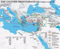 World map of Meditterian   The Ancient Mediterranean (5 Players ...