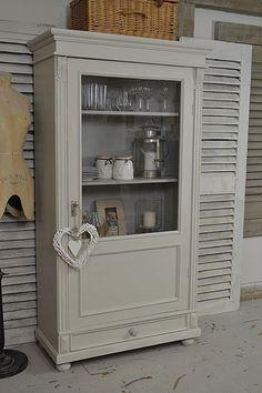 Small Dutch Shabby Chic Linen Cupboard artwork