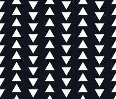 up and down arrows black fabric by alihenrie on Spoonflower - custom fabric