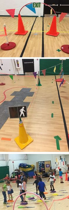PE Teacher Kelly Brown shares her Locomotor City activity that helps students learn locomotor movement, fitness skills, and more