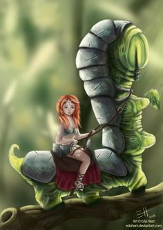 Caterpillar by EdaHerz on DeviantArt
