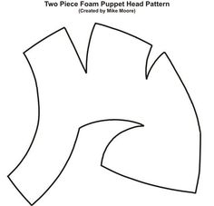 head puppet pattern - Google Search