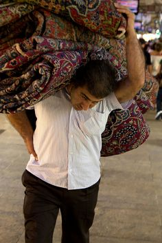 Grand Bazaar Rug Merchant - Turkey