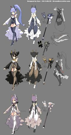 DragonNest Costume design-sorceress by - ZiyoLing