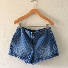 ☃ONE DAY SALE☃Nasty gal Denim scale print shorts Size SMALL Nasty Gal Shorts Jean Shorts