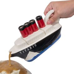Titanic Gravy Boat - Might be just what I need for my Thanksgiving table. Have you met my family???