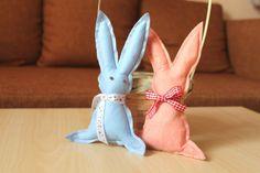 Handmade soft toy Usagi by RediscoveryShop on Etsy https://www.etsy.com/listing/448852420/handmade-soft-toy-usagi