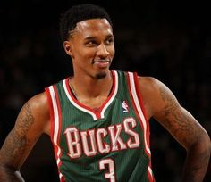 Fear The Deer: Who remembers Jennings' Career Night? Brandon Jennings, Basketball Funny, Milwaukee Bucks, Job Opening, Rebounding, All Star, Nba, Tank Man, My Love