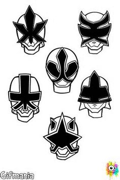 power ranger mask coloring page - Yahoo Image Search Results