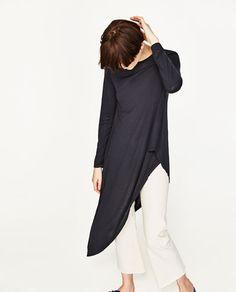 Image 2 of ASYMMETRIC TOP from Zara