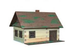 -Great educational and toy, perfect for imaginative play. Hobby Kits, Cabin Kits, Outdoor Structures, House Styles, Building, Wood, Outdoor Decor, Imaginative Play, Home Decor