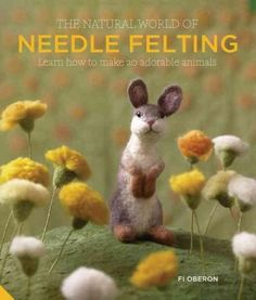 As one of the UK's leading needle felters and designers, Fi Oberon is much in demand for her gorgeous animal sculptures created from felt. The Natural Art of Needle Felting , her first book, aims to b