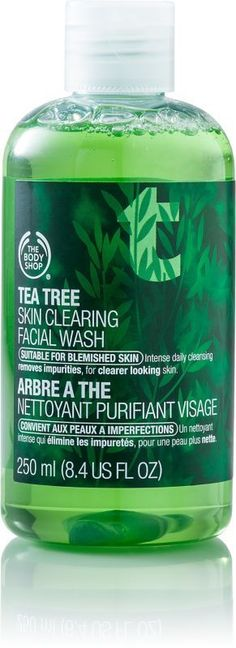 The Body Shop Tea Tree Skin Clearing Facial Wash - Cosmetics, Fragrance, Salon and Beauty Gifts Body Shop Tea Tree, The Body Shop, Organic Skin Care, Natural Skin Care, Natural Face, Natural Beauty, Organic Beauty, Sephora, Anti Aging