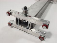 linear motion bearings installed