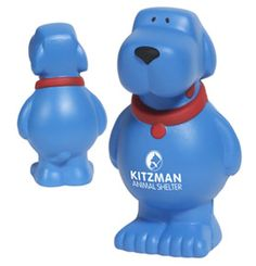 Be top dog on the marketing scene with this Cartoon Dog Stress Reliever. Just add your logo for a fun freebie!