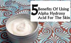 Style Presso - http://www.stylepresso.com/5-benefits-of-using-alpha-hydroxy-acid-for-the-skin/