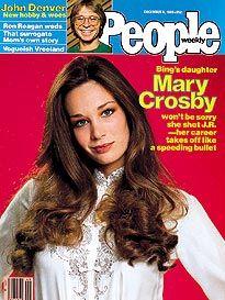 Mary Crosby cover, John Denver inset. Great Memories, Childhood Memories, Mary Crosby, Science And Superstition, Denver News, Popular Magazine, John Denver, Vintage Tv, Good Ole