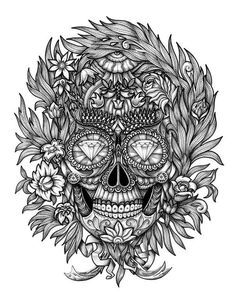 Alex Konahin - Another skull for an amazing French company.