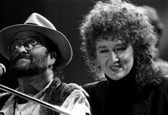 Italian pop music collaborators, the late  Lucio Dalla and Fiorella Mannoia
