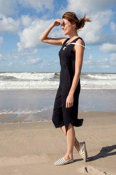 SYLVER Crepe Sweat Dress