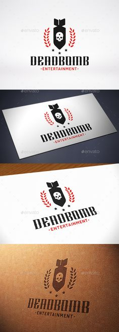 Military Bomb Logo Template — Vector EPS #deathmatch #security • Available here → https://graphicriver.net/item/military-bomb-logo-template/10702288?ref=pxcr