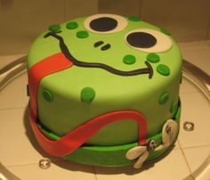 frog face cake
